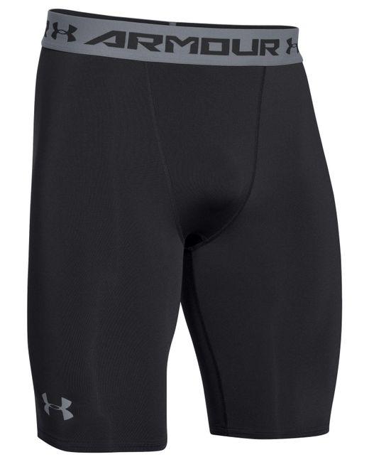 Under Armour - Black Heatgear® Compression Shorts for Men - Lyst