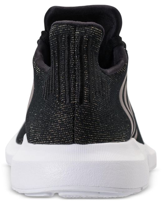 6eddeb45e ... Lyst Adidas - Black Women s Swift Run Casual Sneakers From Finish Line  ...