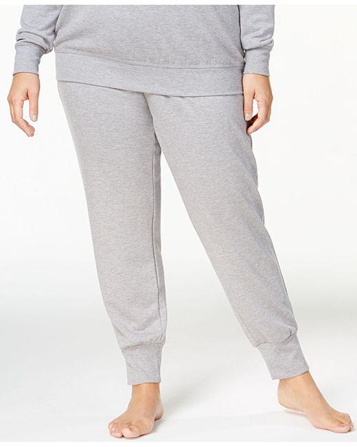Alfani | Gray Plus Size Ribbed-cuff Pajama Pants, Created For Macy's | Lyst