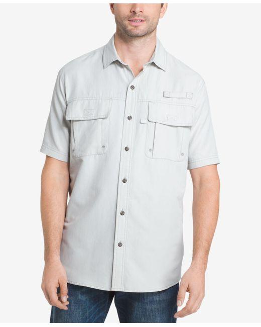 G.H. Bass & Co. | Gray Men's Plaid Explorer Fishing Shirt for Men | Lyst