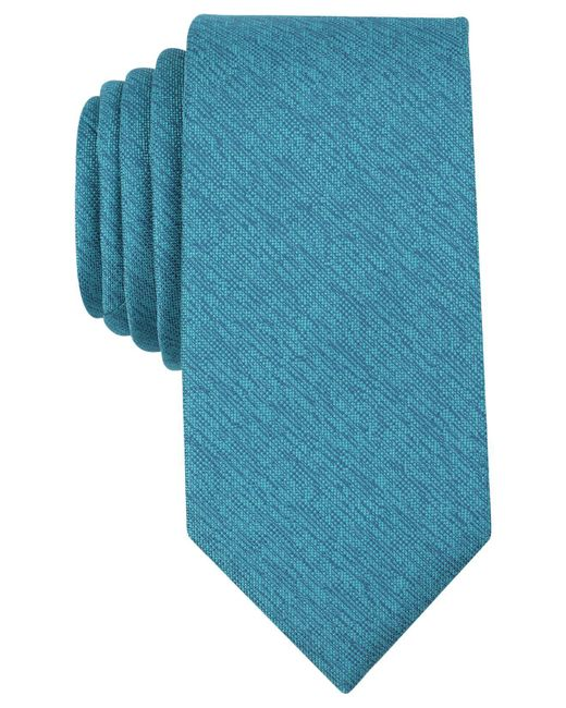 Perry Ellis - Blue Men's Norfolk Solid Tie for Men - Lyst