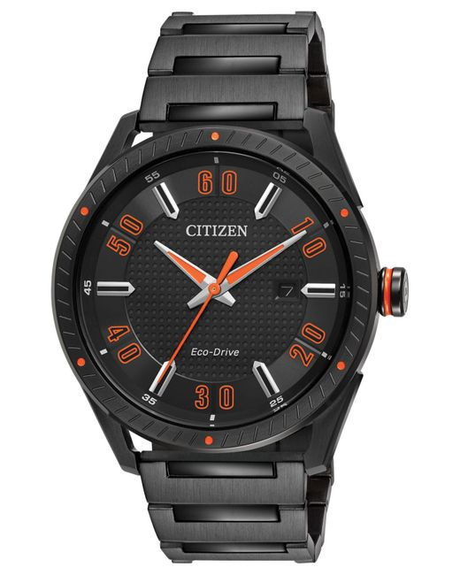 Citizen - Men's Drive Black Ion-plated Stainless Steel Bracelet Watch 42mm Bm6995-51e for Men - Lyst