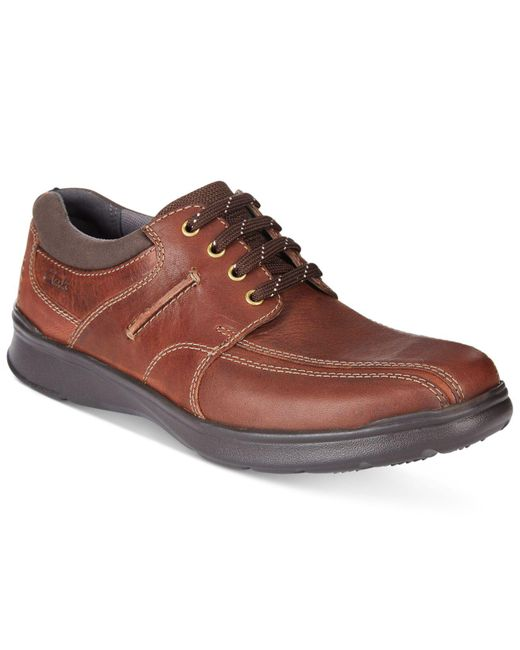Clarks - Brown Men's Cotrell Walk Shoes for Men - Lyst