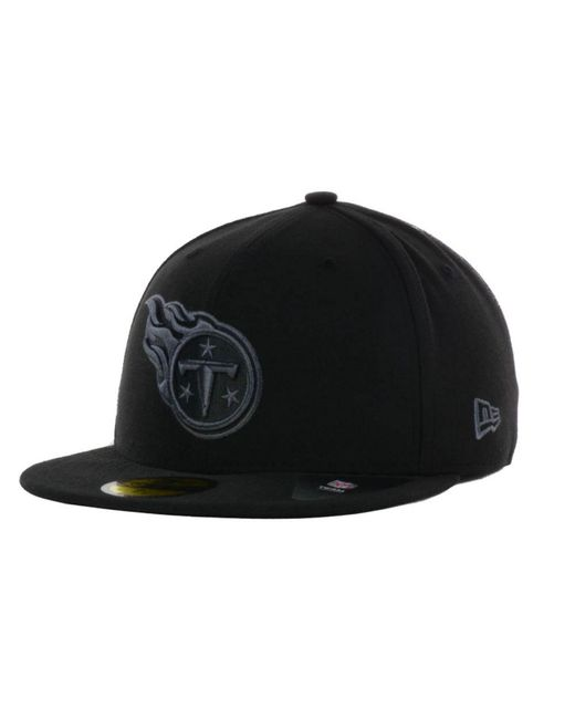 KTZ - Black Tennessee Titans Basic 59fifty Cap for Men - Lyst