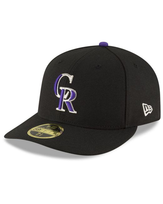 newest collection 7f7ee 7b21e ... KTZ - Black Colorado Rockies 9-11 Memorial Low Profile 59fifty Fitted  Cap for Men ...