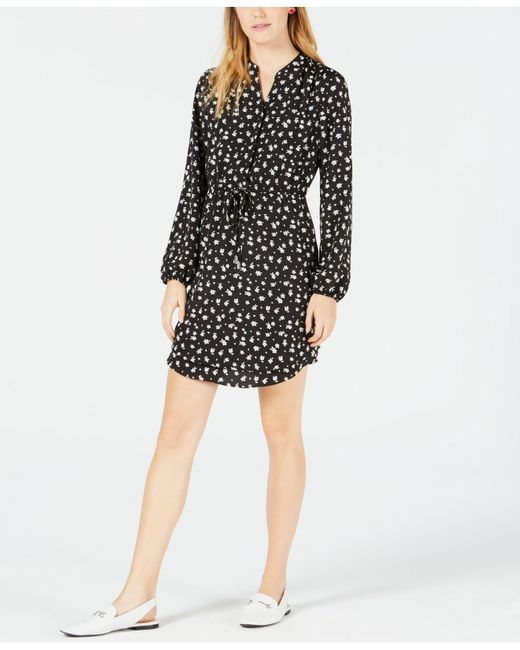 c511c3c57eb2 Maison Jules - Black Printed Shirtdress