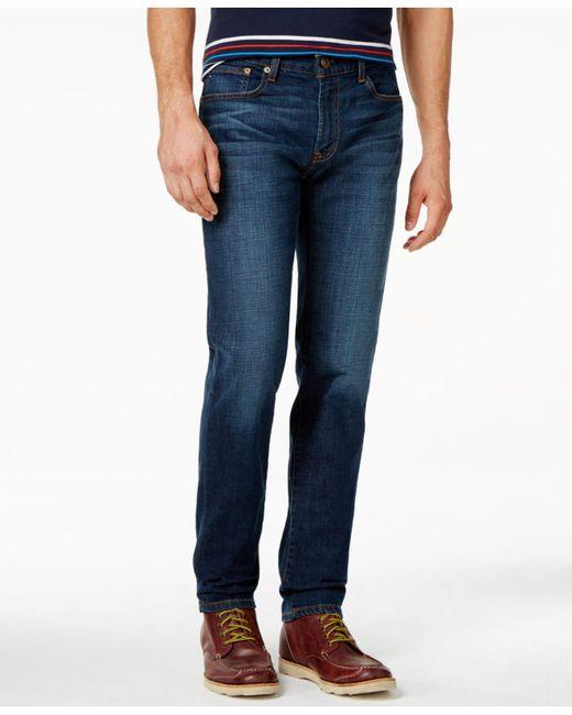 c1f728b2615d43 Lyst - Tommy Hilfiger Men s Slim-fit Jeans in Blue for Men