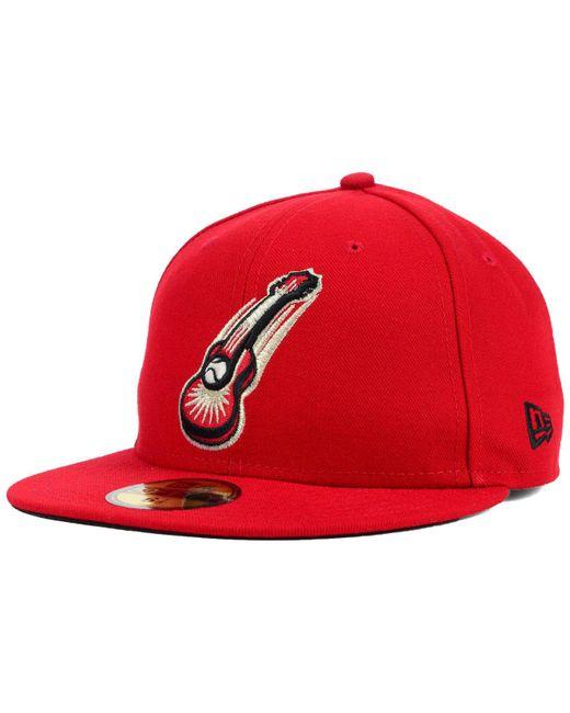 KTZ | Red Nashville Sounds 59fifty Cap for Men | Lyst