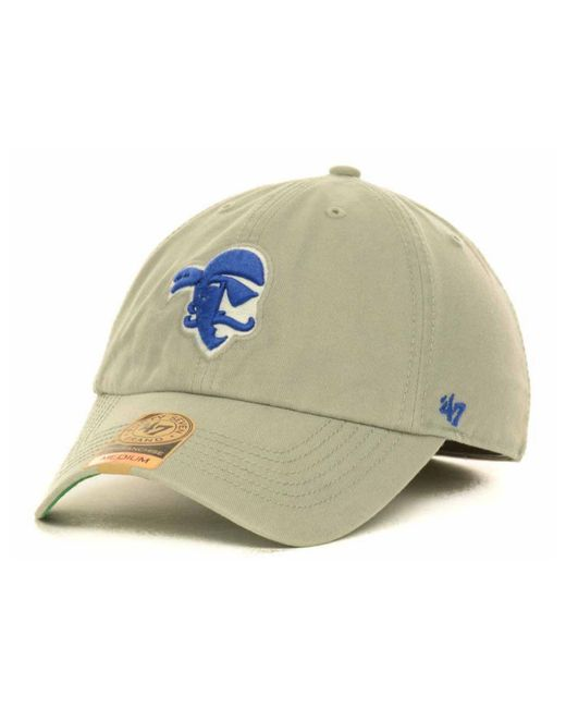 47 Brand - Gray Seton Hall Pirates Ncaa '47 Franchise Cap for Men - Lyst