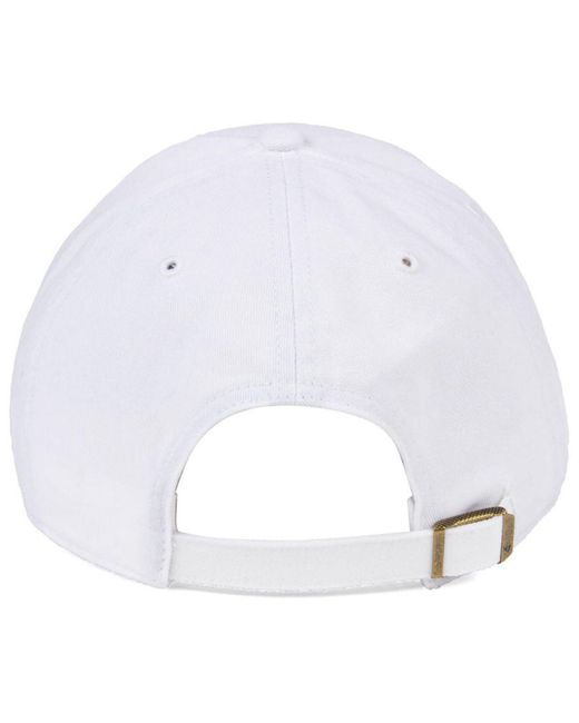more photos d82ac c7439 ... 47 Brand - New York Mets White white Clean Up Cap for Men - Lyst