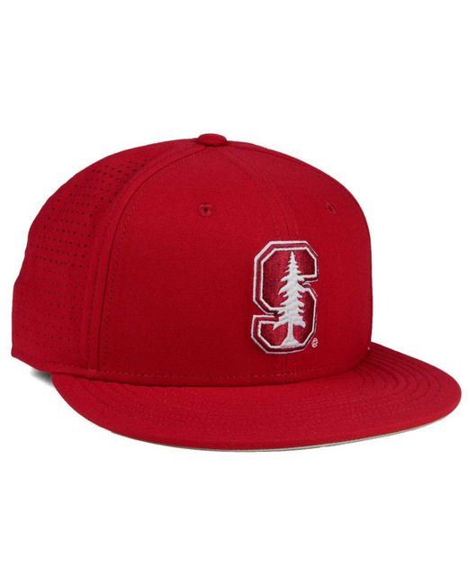 best loved 61571 3b4ea ... Nike - Red Stanford Cardinal True Vapor Fitted Cap for Men - Lyst ...