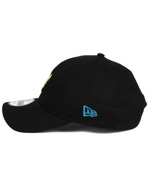 buy online 9522a e6d2a ... best price ktz black charlotte hornets pintasic 9twenty cap for men  lyst 71623 84c7a