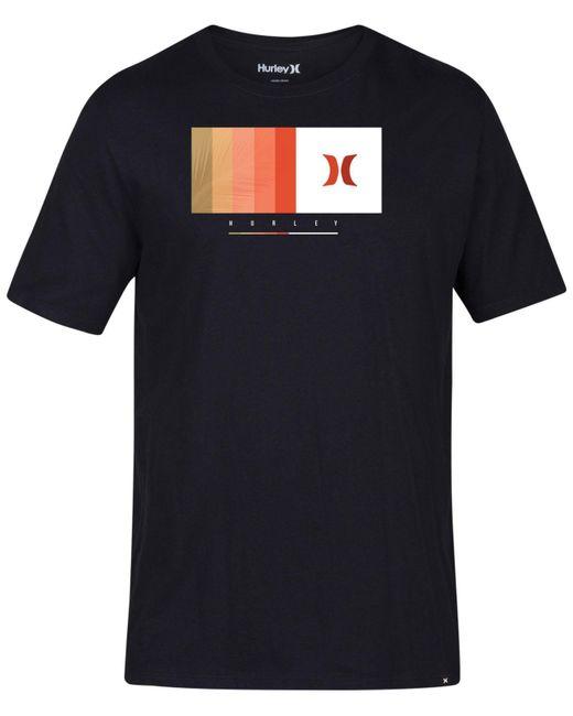 Hurley - Black Wheeler Graphic T-shirt for Men - Lyst