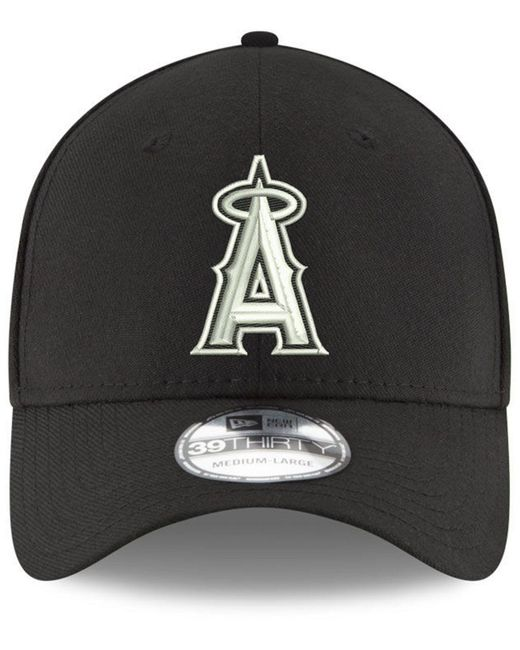 buy popular 19b09 58d73 ... italy ktz black los angeles angels dub classic 39thirty cap for men lyst  e1bd7 56620