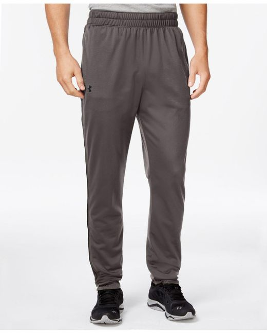 Under Armour | Gray Tapered Tricot Pants for Men | Lyst