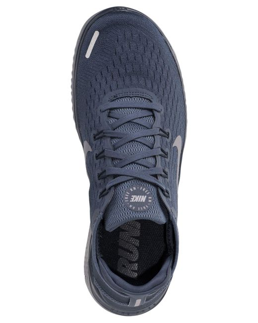 085ff937839 ... Nike - Blue Free Run 2018 Running Sneakers From Finish Line for Men -  Lyst ...