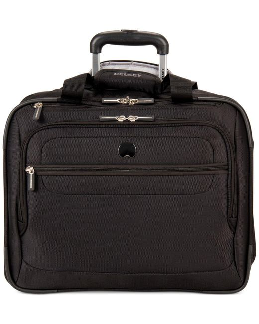 Delsey | Black Helium Fusion Rolling Trolley Tote | Lyst