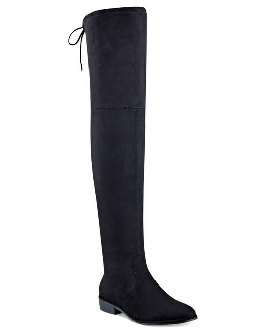 Marc Fisher | Black Humor Over-the-knee Boots | Lyst