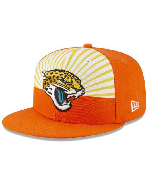 15ddc60533799 KTZ - Orange Jacksonville Jaguars Draft Spotlight 9fifty Snapback Cap for  Men - Lyst ...