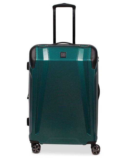"Revo - Green Apex 25"" Expandable Hardside Spinner Suitcase for Men - Lyst"
