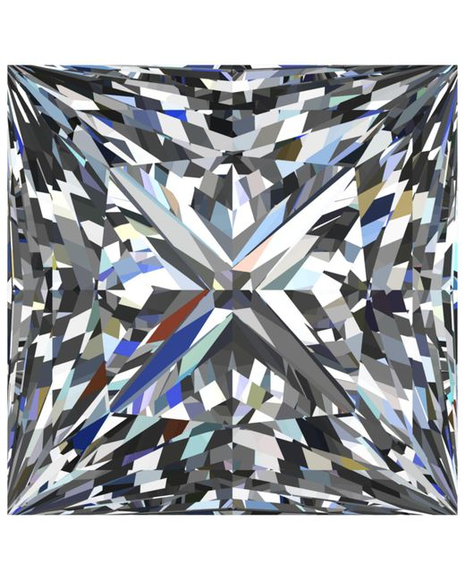 Macy's | Multicolor Gia Certified Diamond Princess (3/4 Ct. T.w.) | Lyst