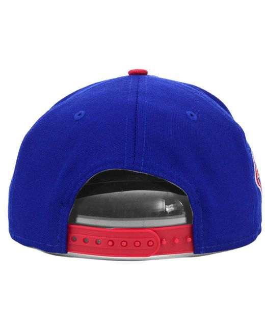 low cost b2fac 67d00 ... get ktz blue philadelphia phillies mlb 2 tone link 9fifty snapback cap  for men lyst 2abe7 ...