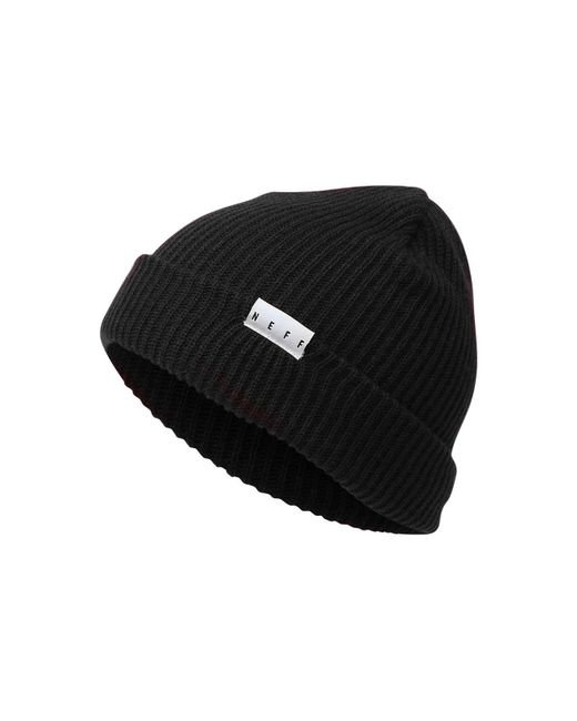 Neff - Black Daily Fold Knit Hat for Men - Lyst