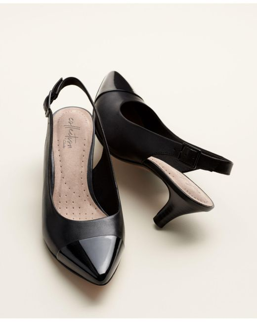 a9f0a000485 ... Clarks - Black Linvale Emmy Pumps - Lyst ...