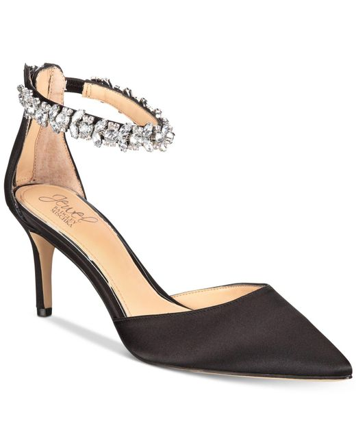 Badgley Mischka | Black Audrey Shoes | Lyst