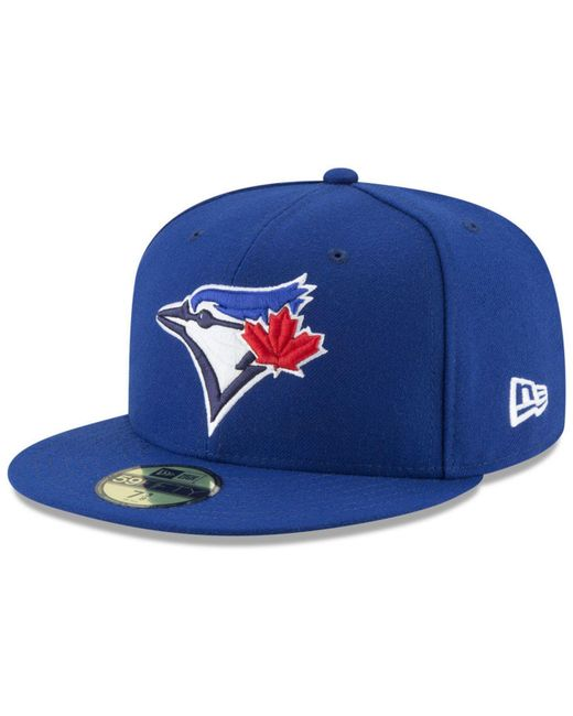 check out 8f658 3a0f5 KTZ - Toronto Blue Jays Jackie Robinson Day 59fifty Fitted Cap for Men -  Lyst ...