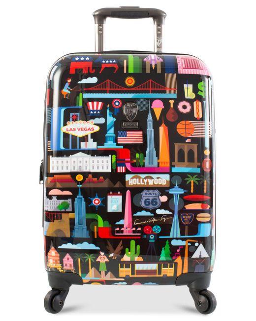 "Heys - Multicolor Fvt Usa 21"" Hardside Spinner Suitcase - Lyst"