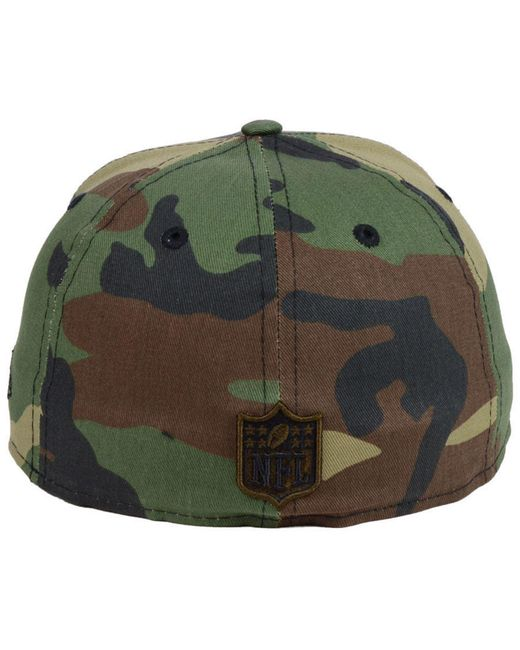 the latest 4b6bd 3d2a1 ... KTZ - Green Bay Packers Woodland Prism Pack 59fifty-fitted Cap for Men  - Lyst