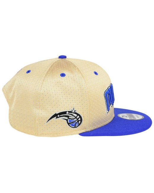 newest collection 8b9c7 93ad8 ... KTZ - Blue Orlando Magic Champagne 9fifty Snapback Cap for Men - Lyst  ...