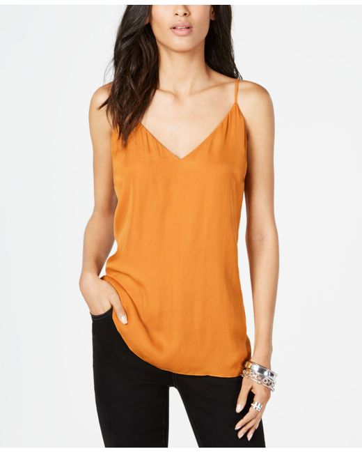 INC International Concepts - Green I.n.c. V-neck Camisole, Created For Macy's - Lyst