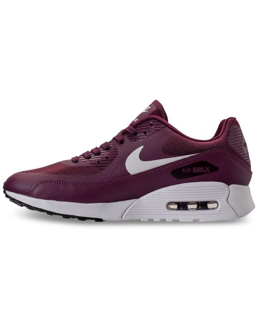 ... e7e40 745ba Nike Purple Womens Air Max 90 Ultra 2.0 Running Sneakers  From Finish Line . ... 0e2bd3cedc
