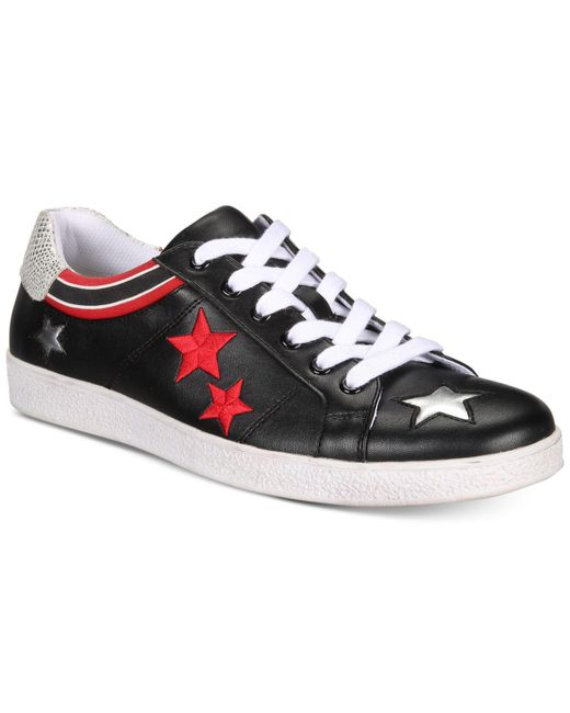 INC International Concepts - Black Cosmic Patchwork Low-top Sneakers, Created For Macy's for Men - Lyst