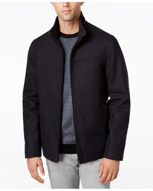 Perry Ellis | Multicolor Men's Big & Tall Full-zip Stand-collar Coat for Men | Lyst