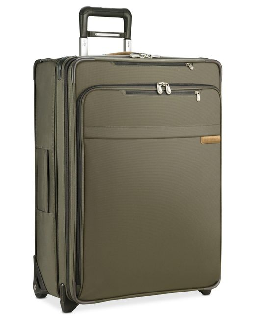 Briggs & Riley - Green Large Expandable Wheeled Suitcase for Men - Lyst
