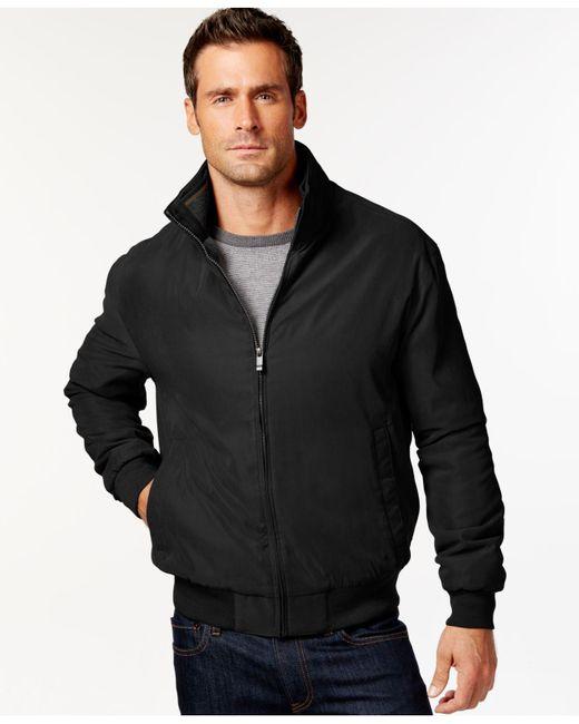 Weatherproof   Black Bomber Jacket for Men   Lyst