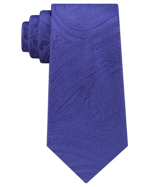 Michael Kors   Blue Men's Lucia Paisley Tie for Men   Lyst