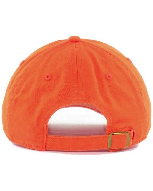best website 027fd d29c3 ... australia 47 brand orange denver broncos clean up cap for men lyst  1e9ea f0317