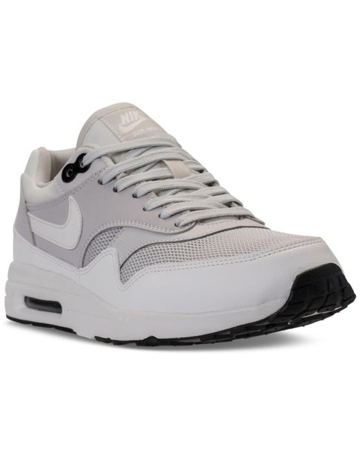 new style f879e 0ec97 Nike - Gray Womens Air Max 1 Ultra 2.0 Running Sneakers From Finish Line -  Lyst ...