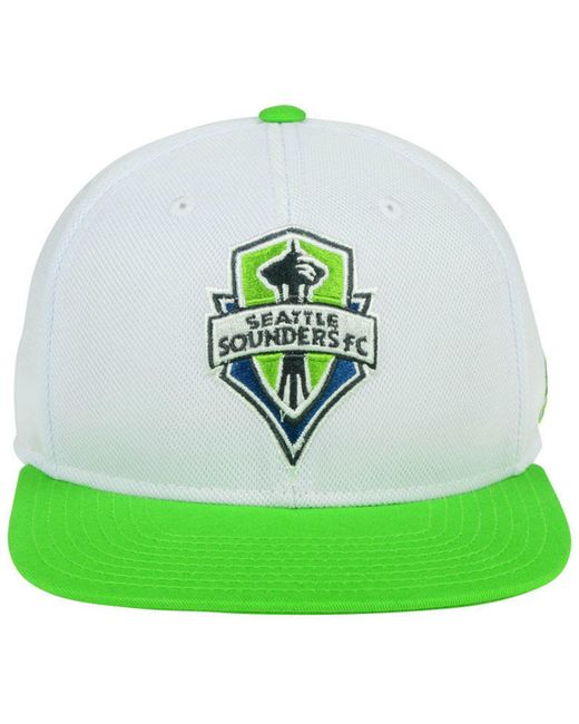 62b0b4961ad ... Adidas - Green Seattle Sounders Fc 2tone Snapback Cap for Men - Lyst ...