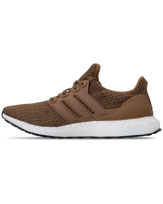 20e7c339d ... closeout adidas brown ultraboost 4.0 running sneakers from finish line  for men lyst 78b6e bceab