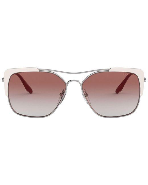 9e5a0e9d82eda ... hot prada multicolor sunglasses pr 54vs 58 lyst f7662 49a38 ...