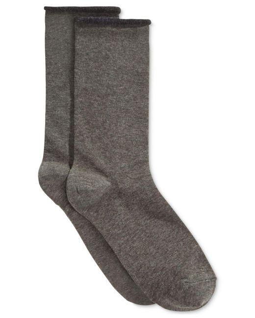 Hue - Gray Socks, Jeans - Lyst