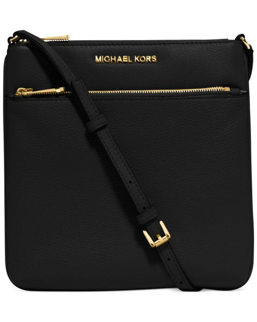 Michael Kors | Brown Riley Small Flat Cross-body Bag | Lyst