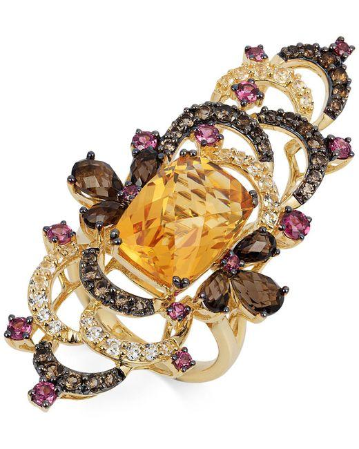 Le Vian - Multicolor Multi-stone Ring (9-1/4 Ct. T.w.) In 14k Gold - Lyst