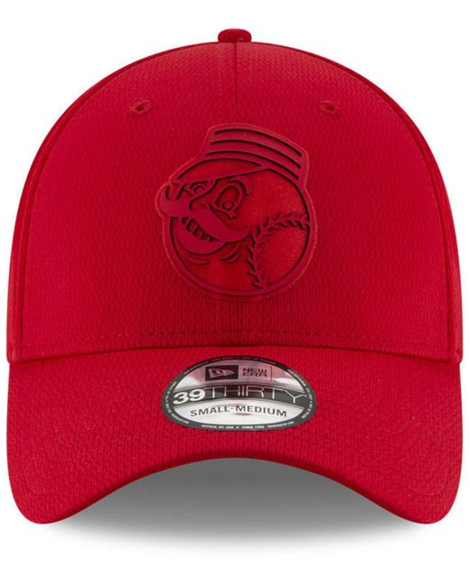 save off 70c23 e5a59 ... KTZ - Cincinnati Reds Clubhouse 39thirty Cap for Men - Lyst ...