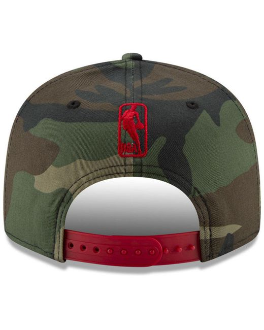 wholesale dealer 55a6b dffee ... KTZ - Green Philadelphia 76ers Overspray 9fifty Snapback Cap for Men -  Lyst